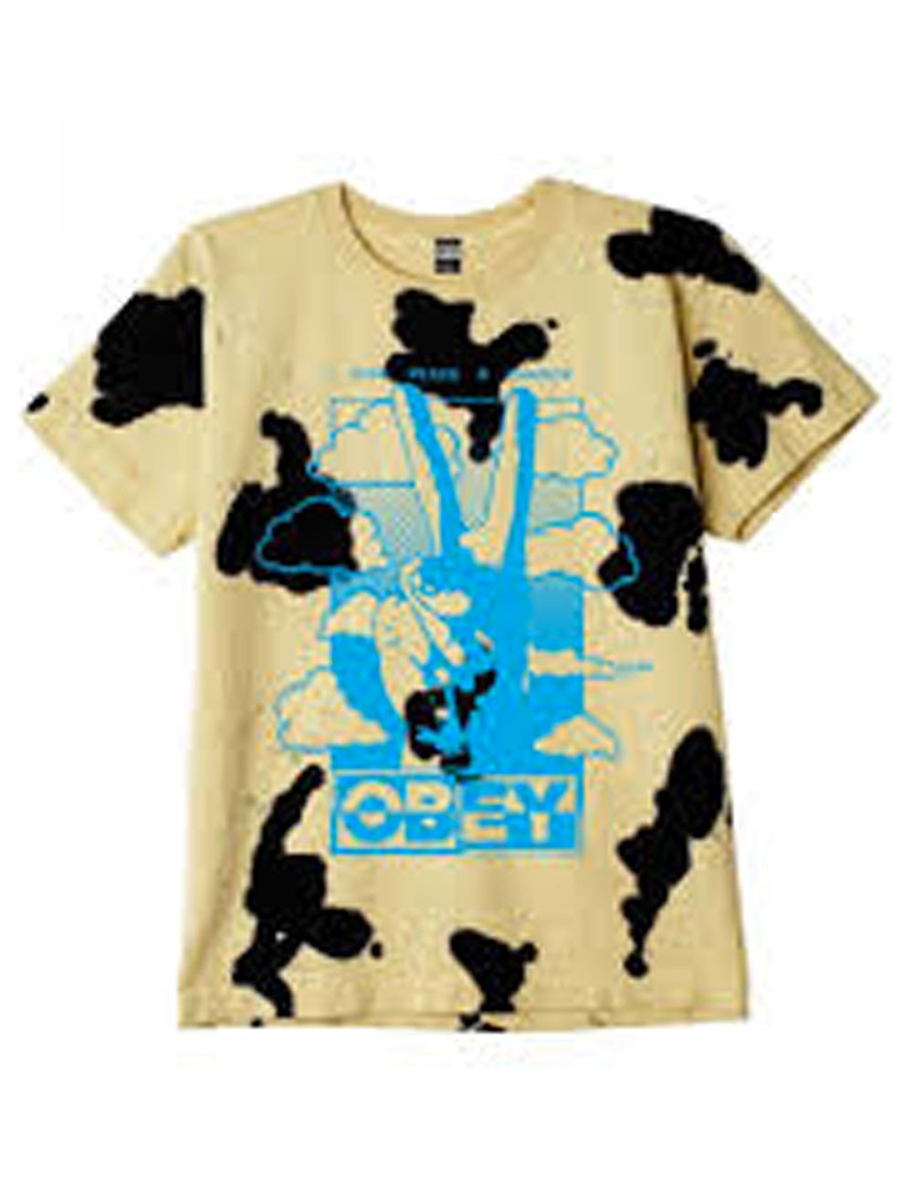 Obey Give peace a chance heavyweight tie dye tee 163102190