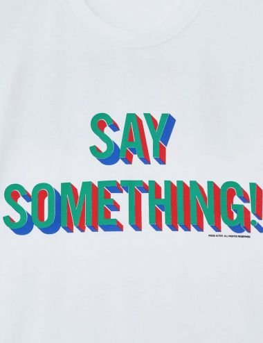 Iuter Say something t-shirt 21WITS99
