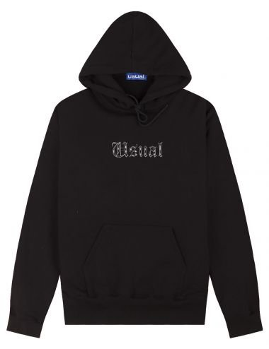 Usual Barrio hoodie W21H_BARRIO_BLK
