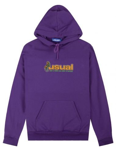 Usual Ecstasy hoodie W21H_ECSTASY_PRP